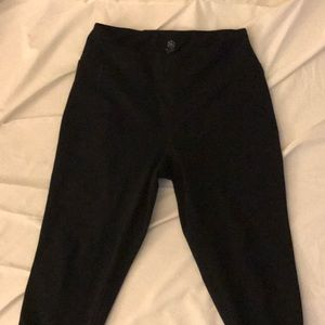Black High Waisted workout leggings